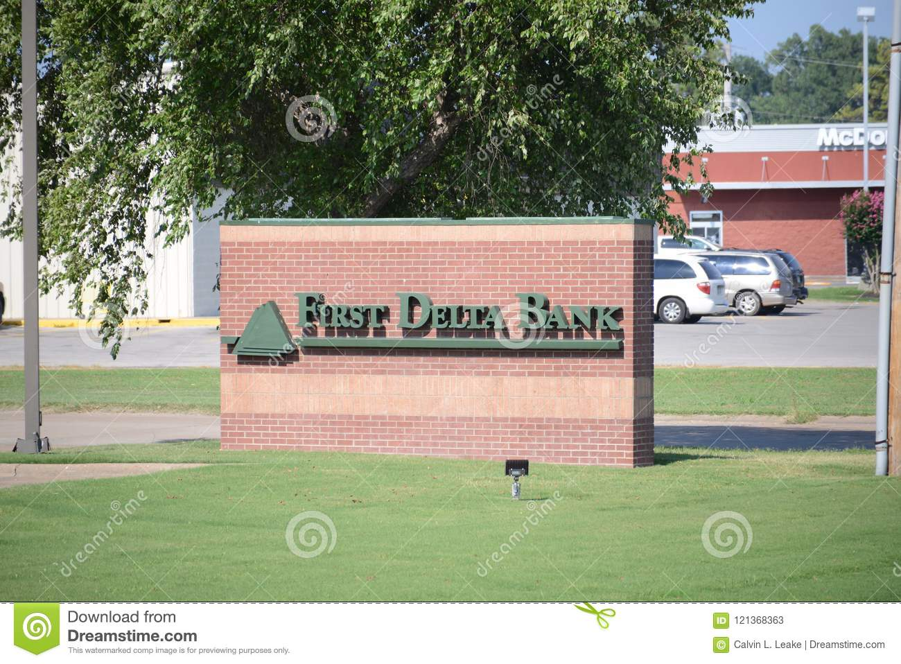 Bank Of The West Auto Loan >> First Delta Bank West Memphis Arkansas Editorial Stock