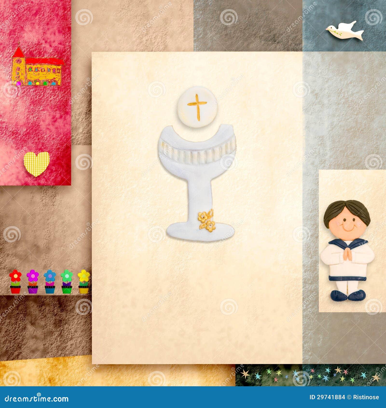 First Communion Invitations Free Printable for adorable invitations design