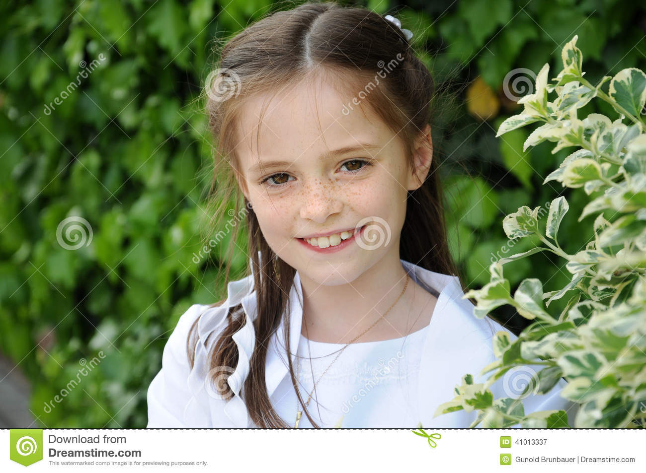 First Holy Communion Stock Photo Image 41013337