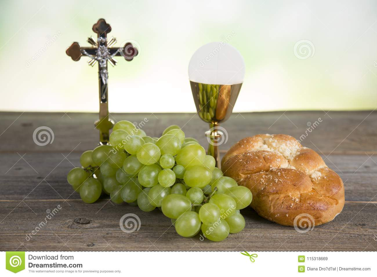 First Holy Communion Stock Image Image Of Jesus Chalice 115318669