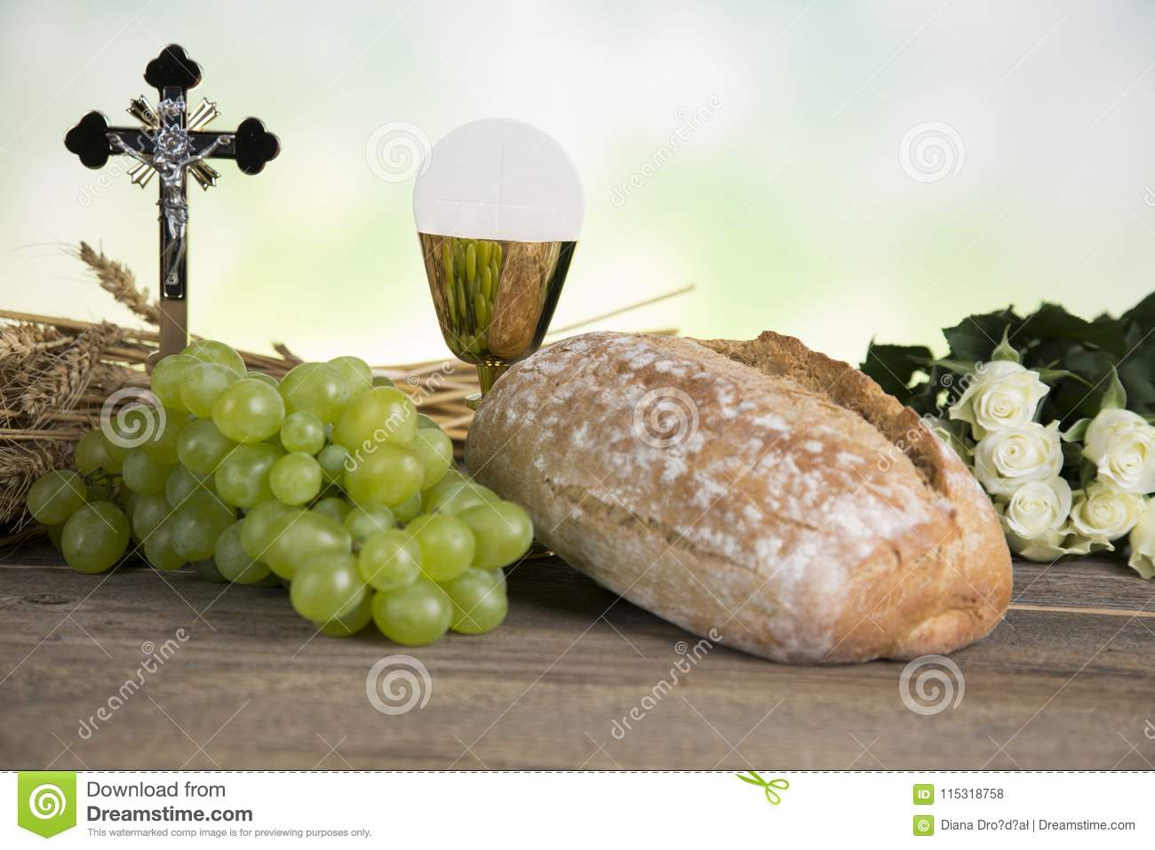 First Holy Communion Stock Photo Image Of Communion 115318758