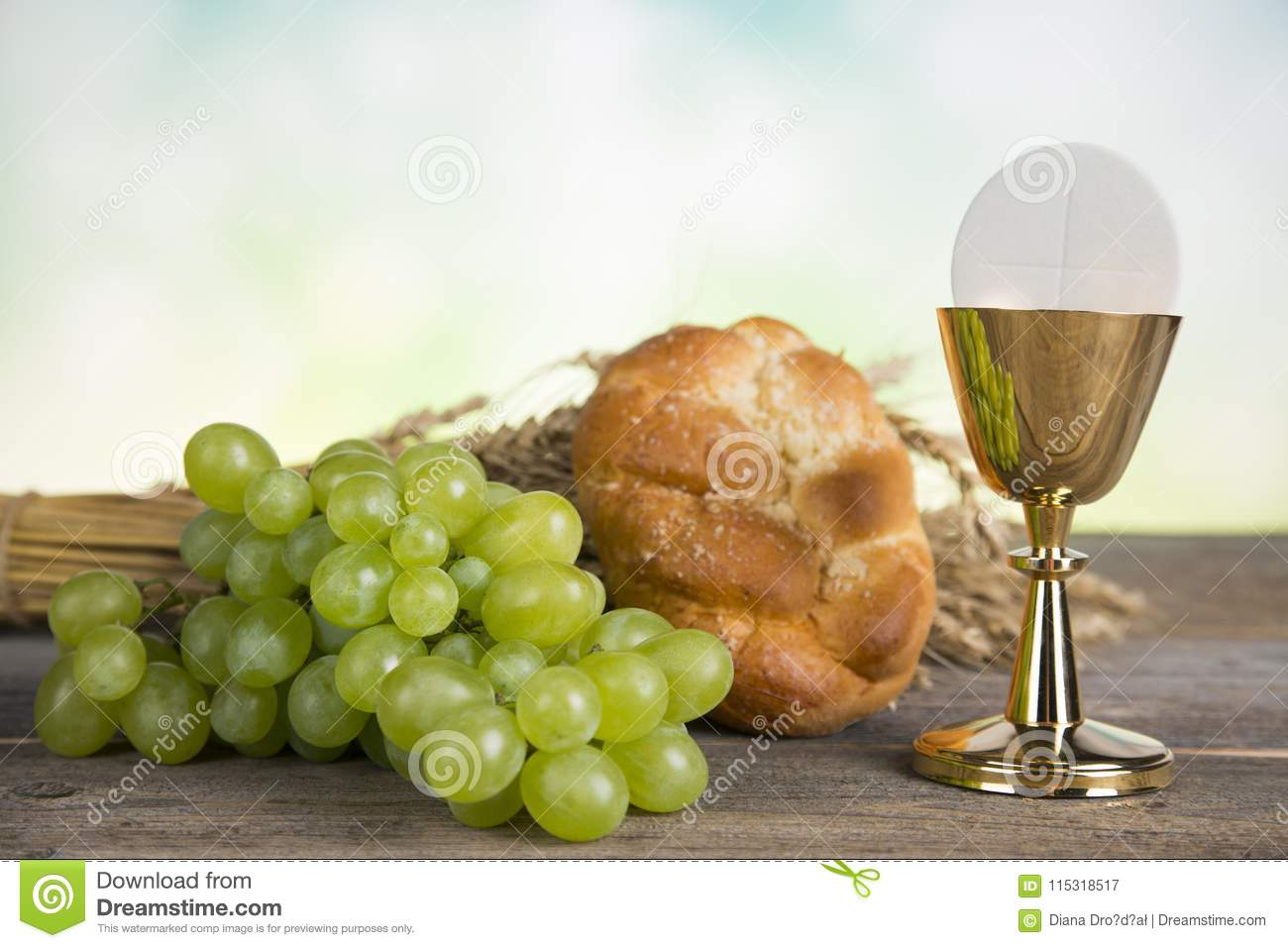First Holy Communion Stock Image Image Of Chalice Children 115318517