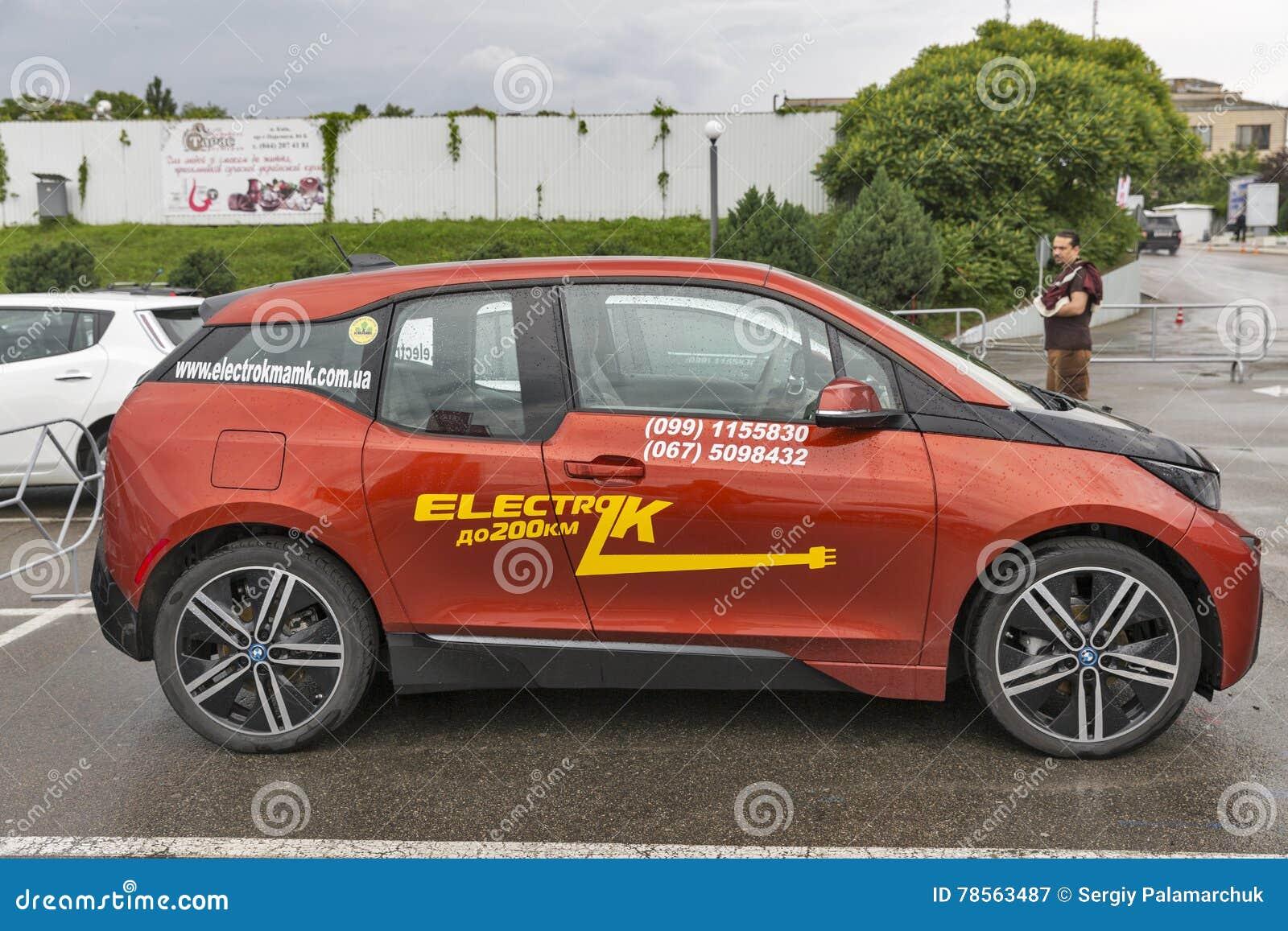 Electric Plug Electric Charge Of Bmw I3 Editorial Photo Cartoondealer Com 80748635