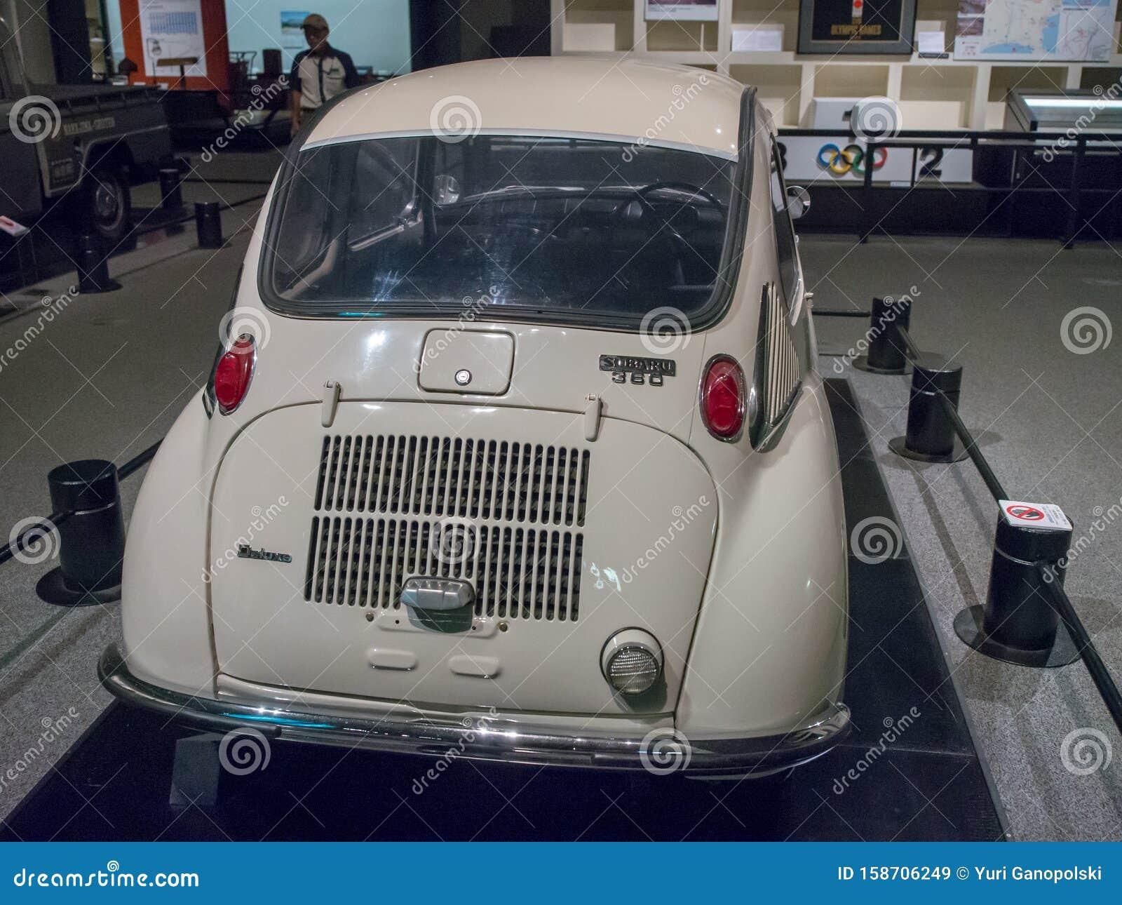 The First Japanese Light Car Subaru 360 At Edo-Tokyo ...