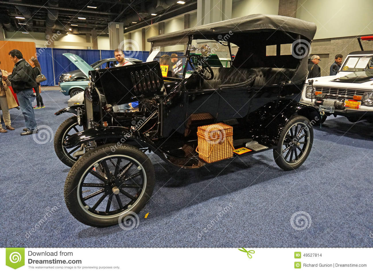 First Mass Produced Car editorial stock image. Image of cylinder ...