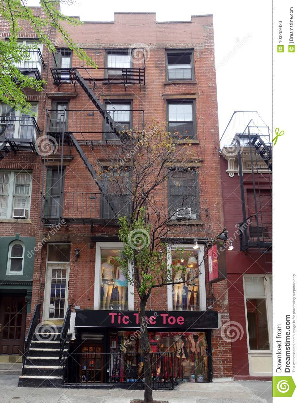First New York Apartment Of Singer Songwriter Bob Dylan In