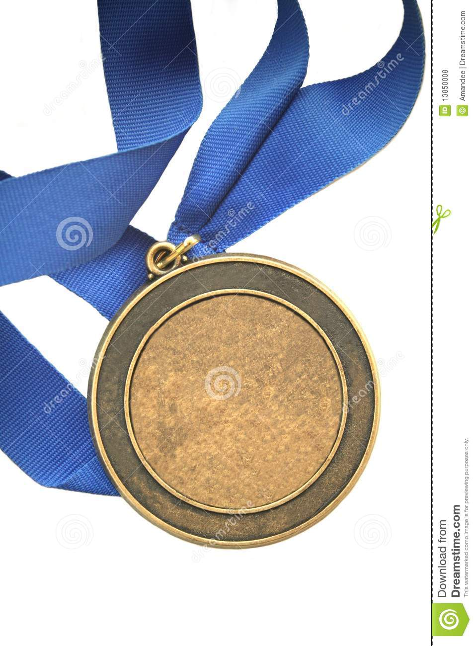 First place champion medal - add your own text