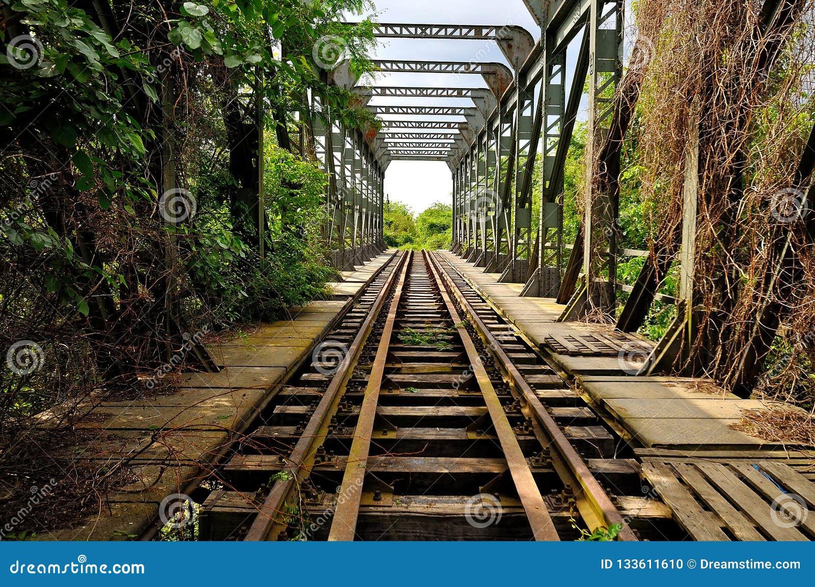 The first railroad in Romania Bucuresti-Giurgiu