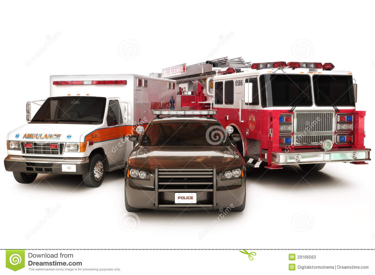 First Responder Vehicles Stock Photos - Image: 29166563