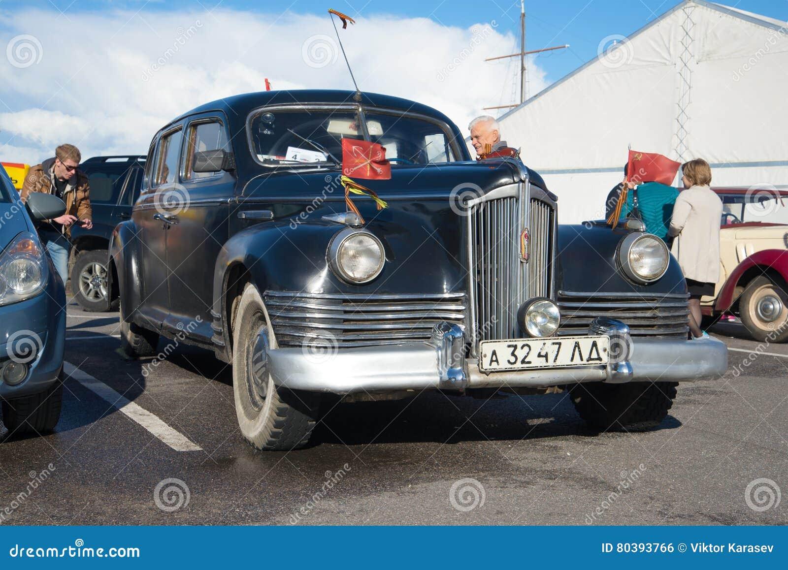 The First Soviet Post-war Car Of The Representative Class ZIS-110 ...