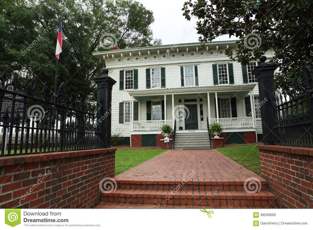 First white house of the confederacy montgomery al for Montgomery house