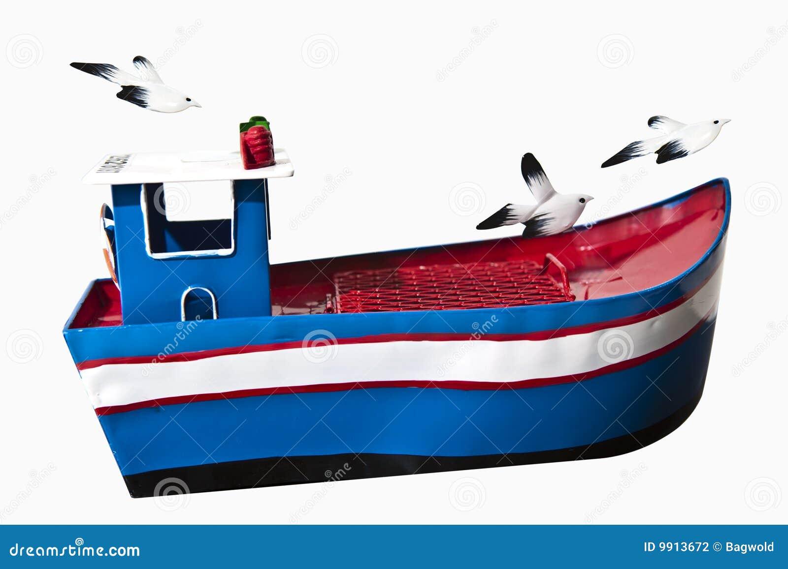 Fischerboot des Spielzeugs