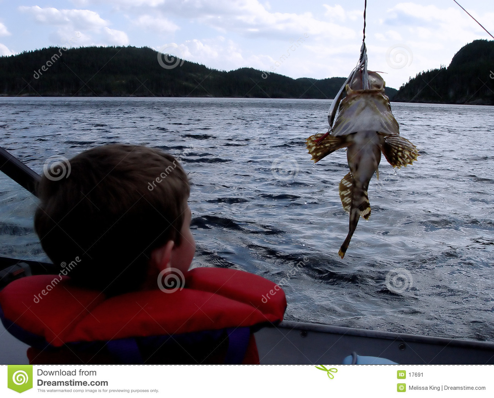 Fischerei im Boot