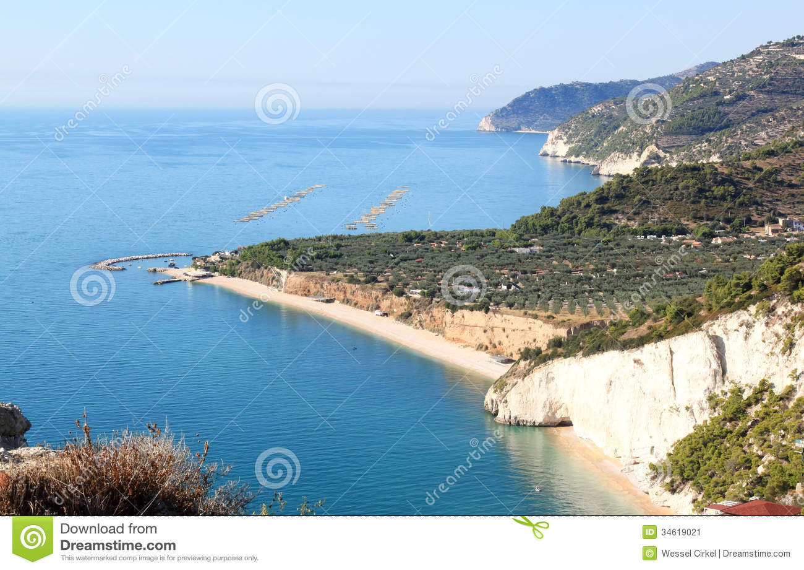 umschreibung halbinsel im adriatischen meer.
