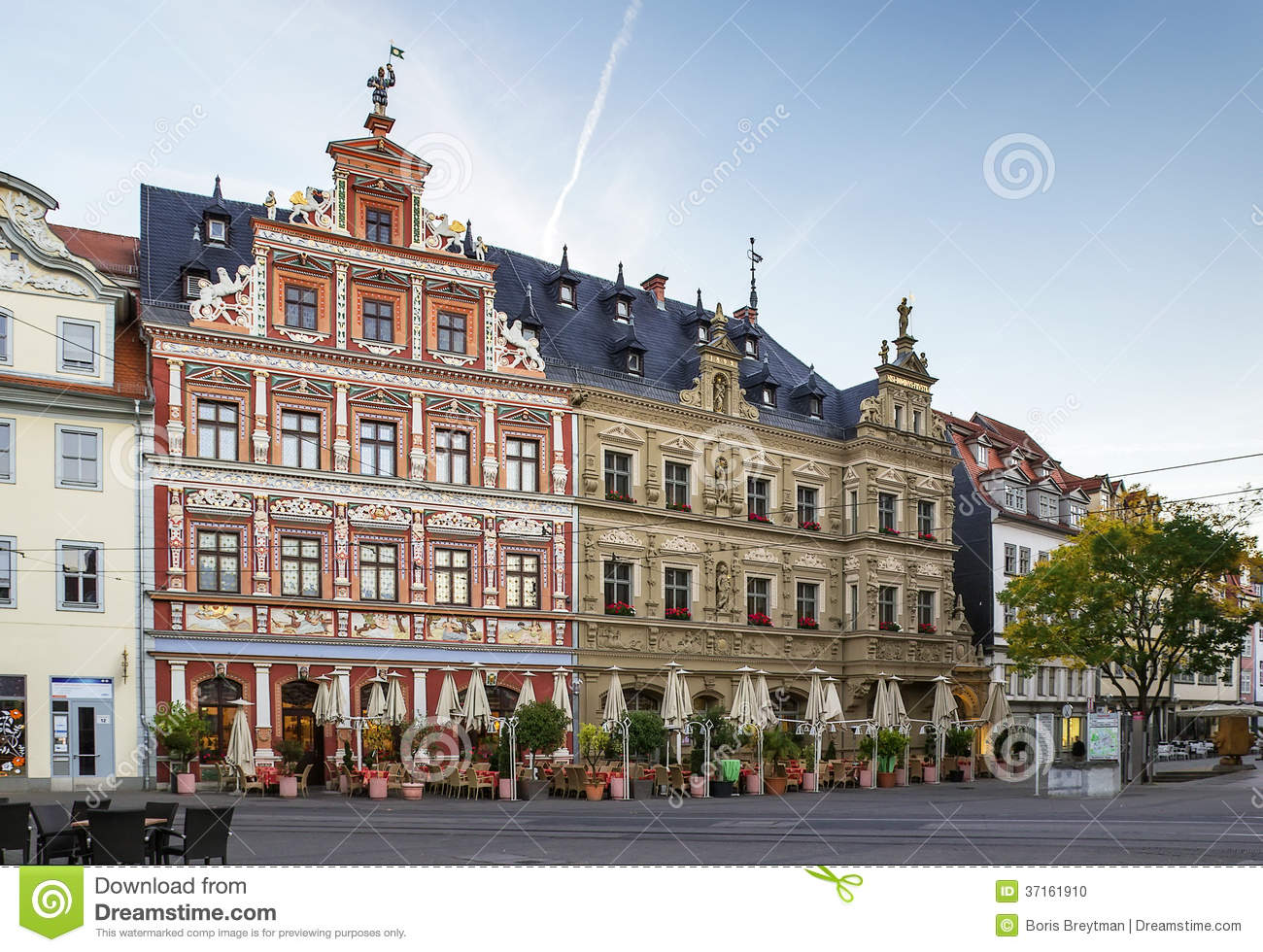fischmarkt square erfurt germany stock photo image of europe famous 37161910. Black Bedroom Furniture Sets. Home Design Ideas