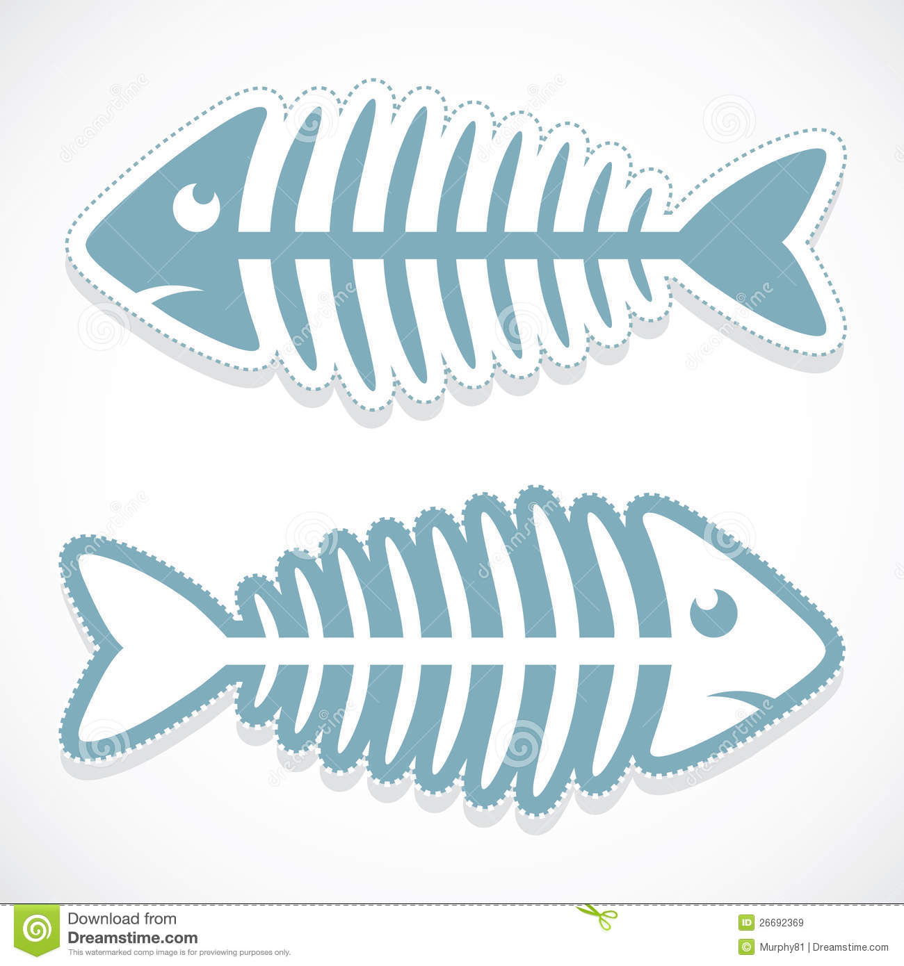 fish bone sticker royalty free stock images image 26692369 Fish Bone Clip Art fish skeleton clip art images