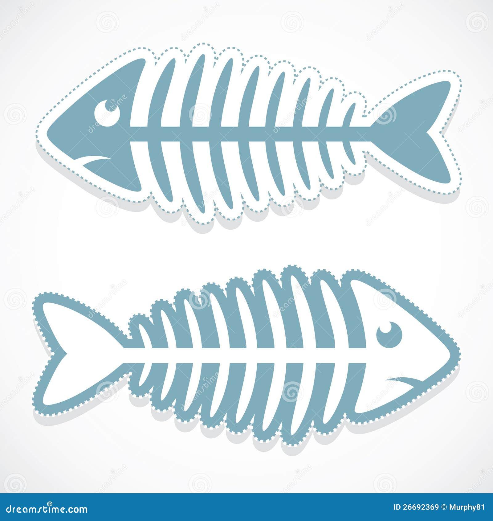 Fish Bone Clip Art Cartoon Stock Photos, Images, & Pictures - 77 ...