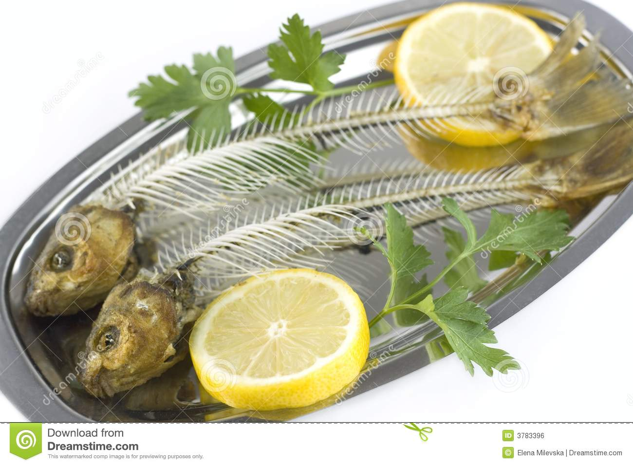 Fish bones royalty free stock image image 3783396 for Fish bone meal