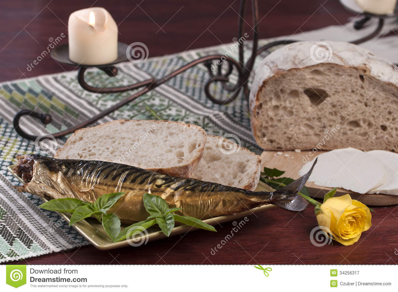 Fish and bread royalty free stock photography image for Fishing with bread