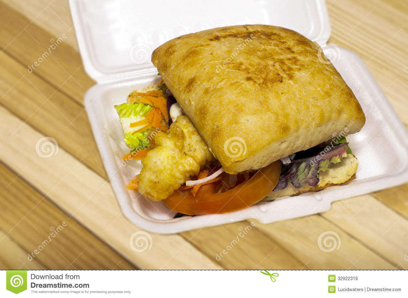 Fish Burger Royalty Free Stock Images Image 32922319
