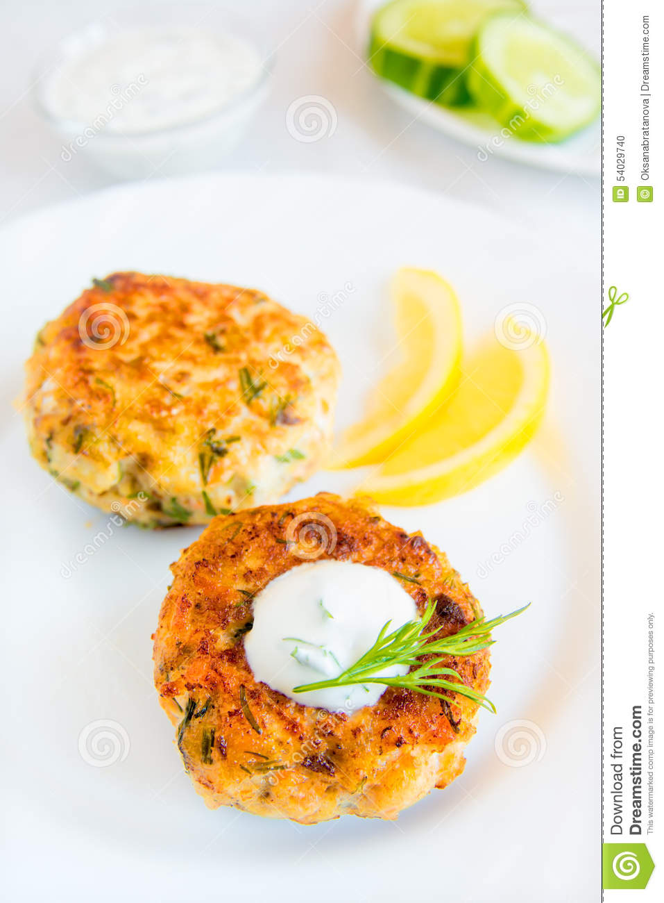 Traditional Thai Fish Cakes