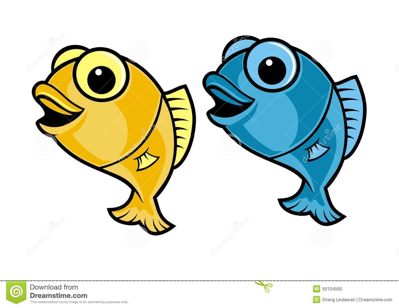 Fish Cartoon Stock Illustration - Image: 50104565