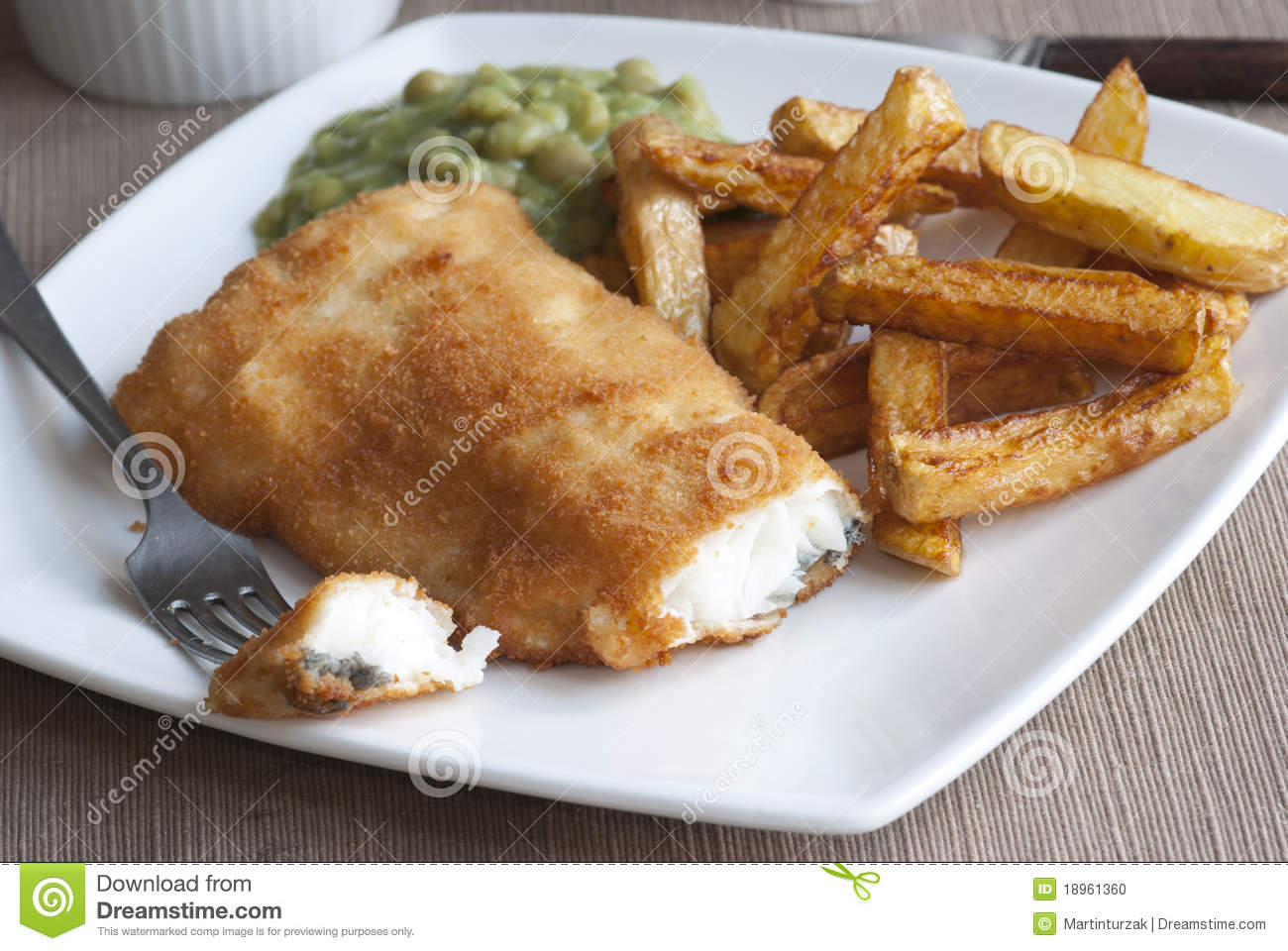 Fish and chips stock photo image 18961360 for Air fryer fish and chips