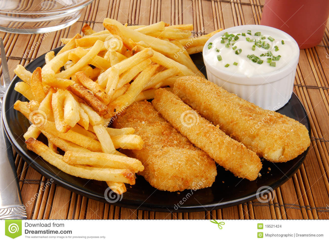 Fish and chips stock photo. Image of battered, breaded - 19521424
