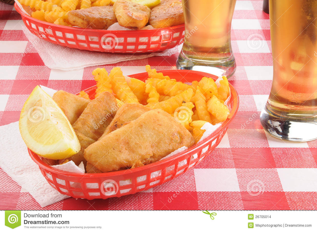 Fish and chips with beer stock images image 26705014 for Fish and beer