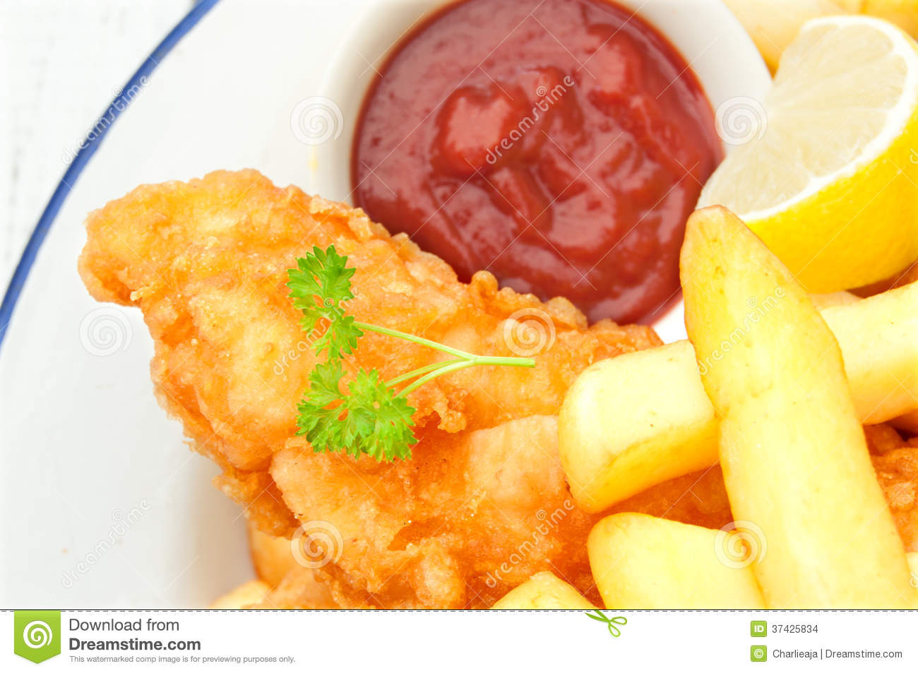 Fish and chips stock images image 37425834 for Fish and chips sauce