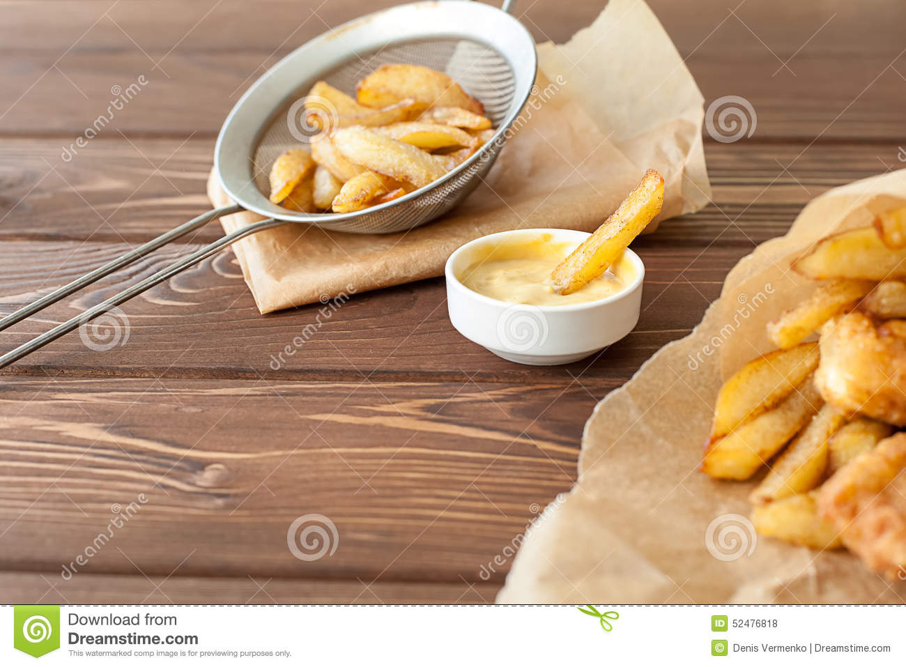 Fish and chips fast food stock photo image of crispy for Fast food fish