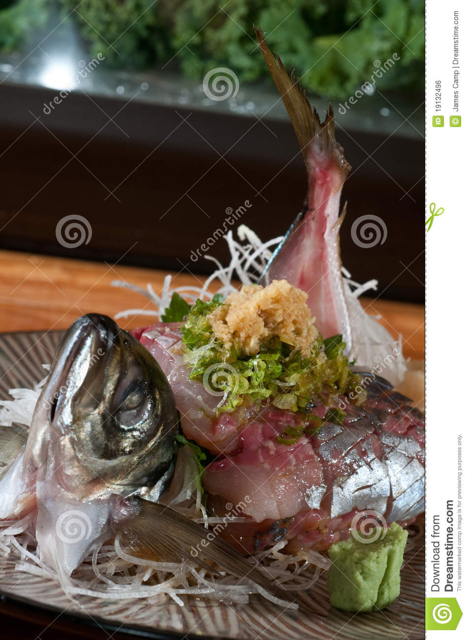 Fish cut for sushi royalty free stock image image 19132496 for Best fish for sushi