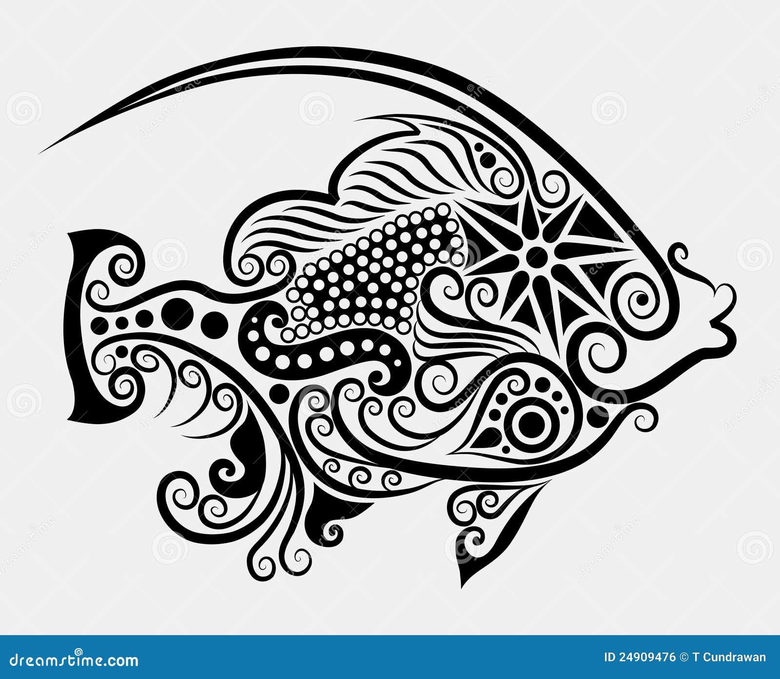 Fish Decorative #2 Royalty Free Stock Image - Image: 24909476