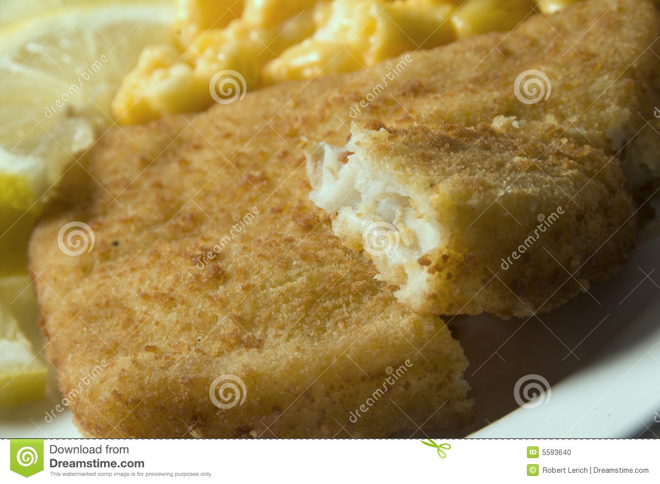 Fish filet macaroni and cheese stock photo image 5593640 for Fish and cheese