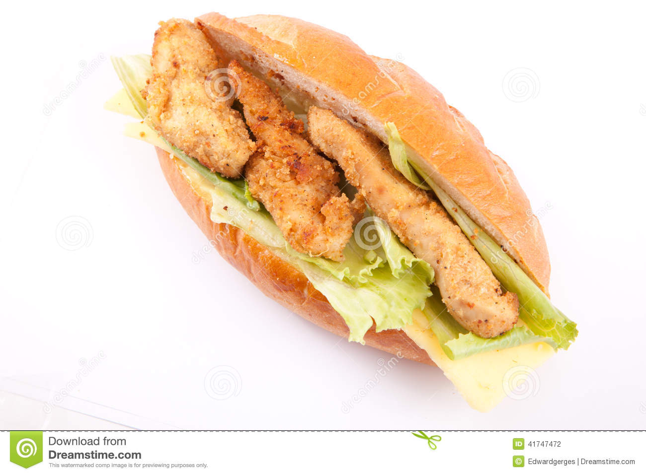 Fish fillet sandwich stock photo image of background for Fish sandwich fast food