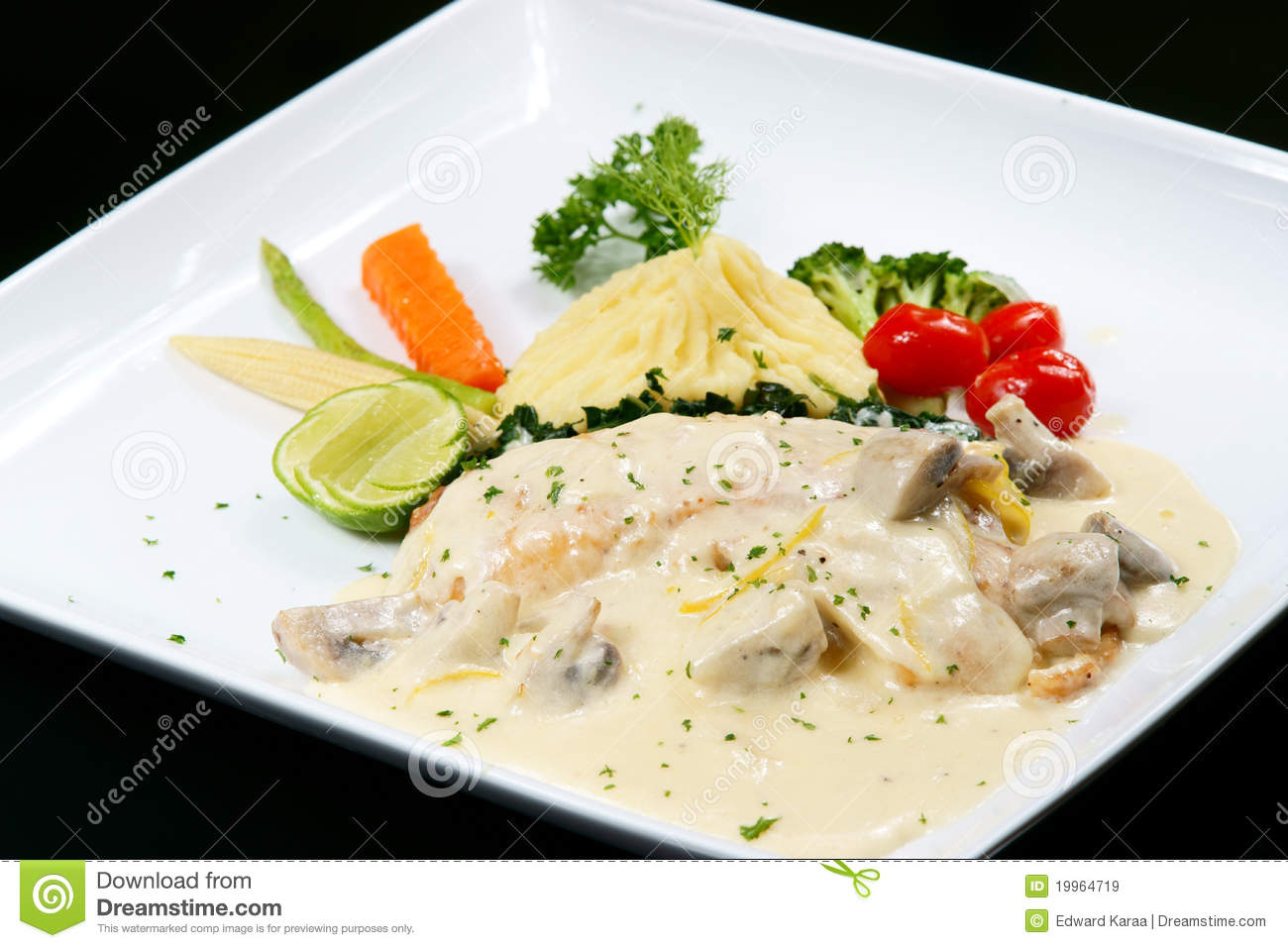 Fish fillet in white sauce stock image image of fillet for White sauce for fish