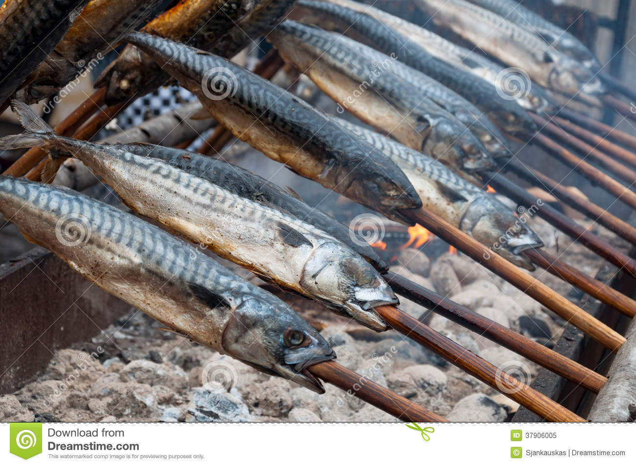 Fish on fire royalty free stock photo image 37906005 for Fish on fire