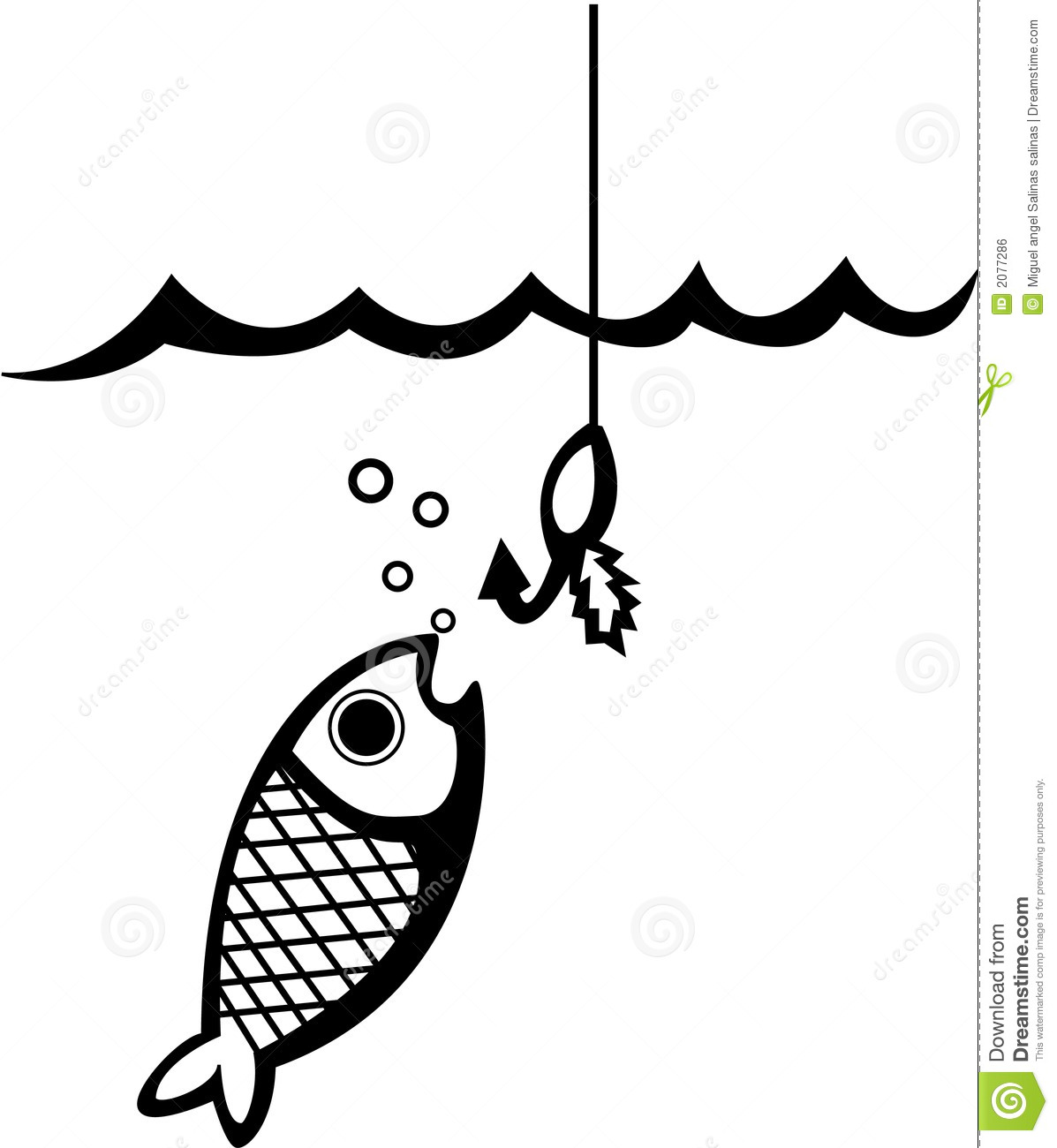 fish and fishing lure vector illustration stock vector fish hook clip art image fish hook clip art free
