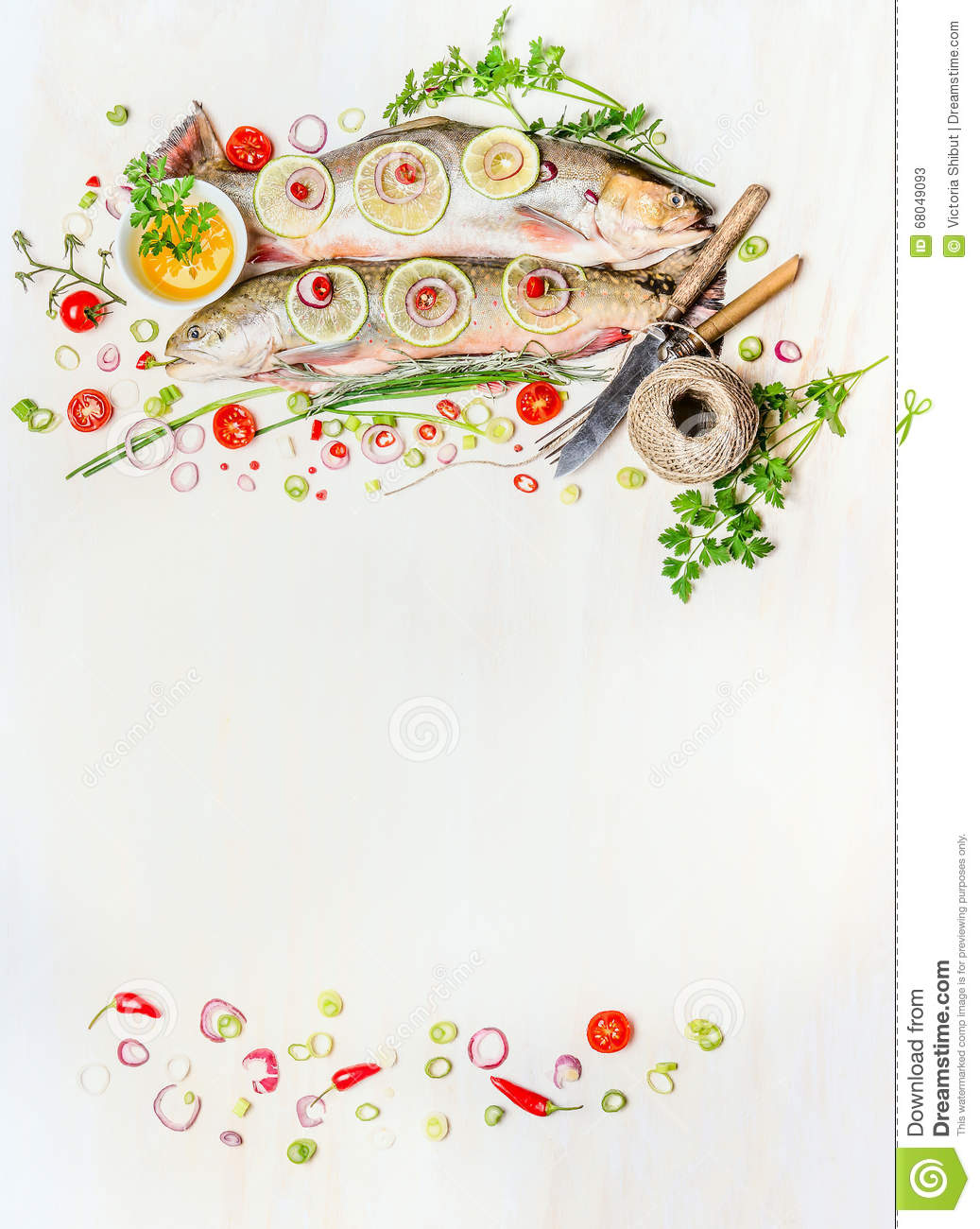 Fish food background with raw whole fish fresh delicious for Too cool fishing