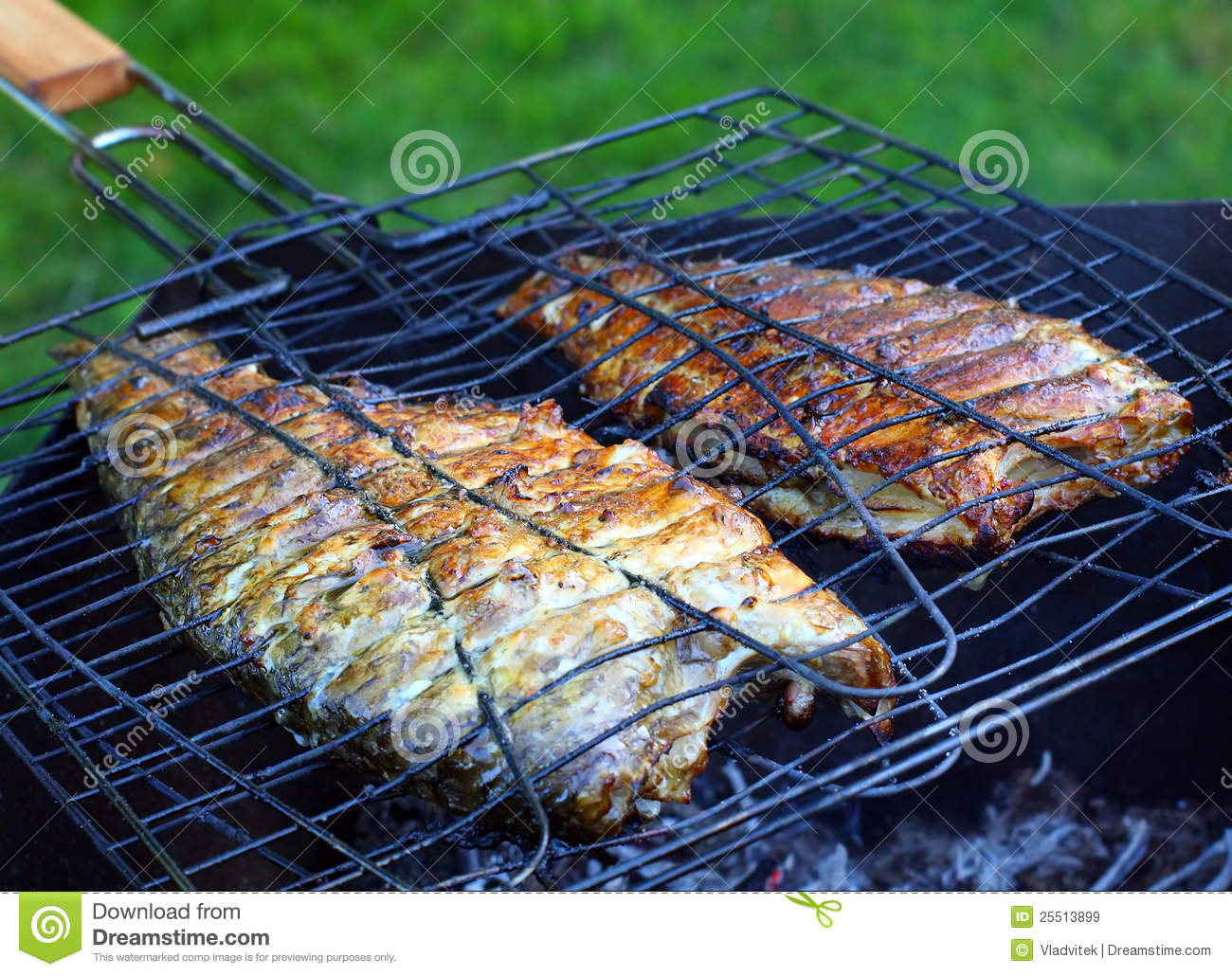 Fish on the grill royalty free stock images image 25513899 for The fish grill