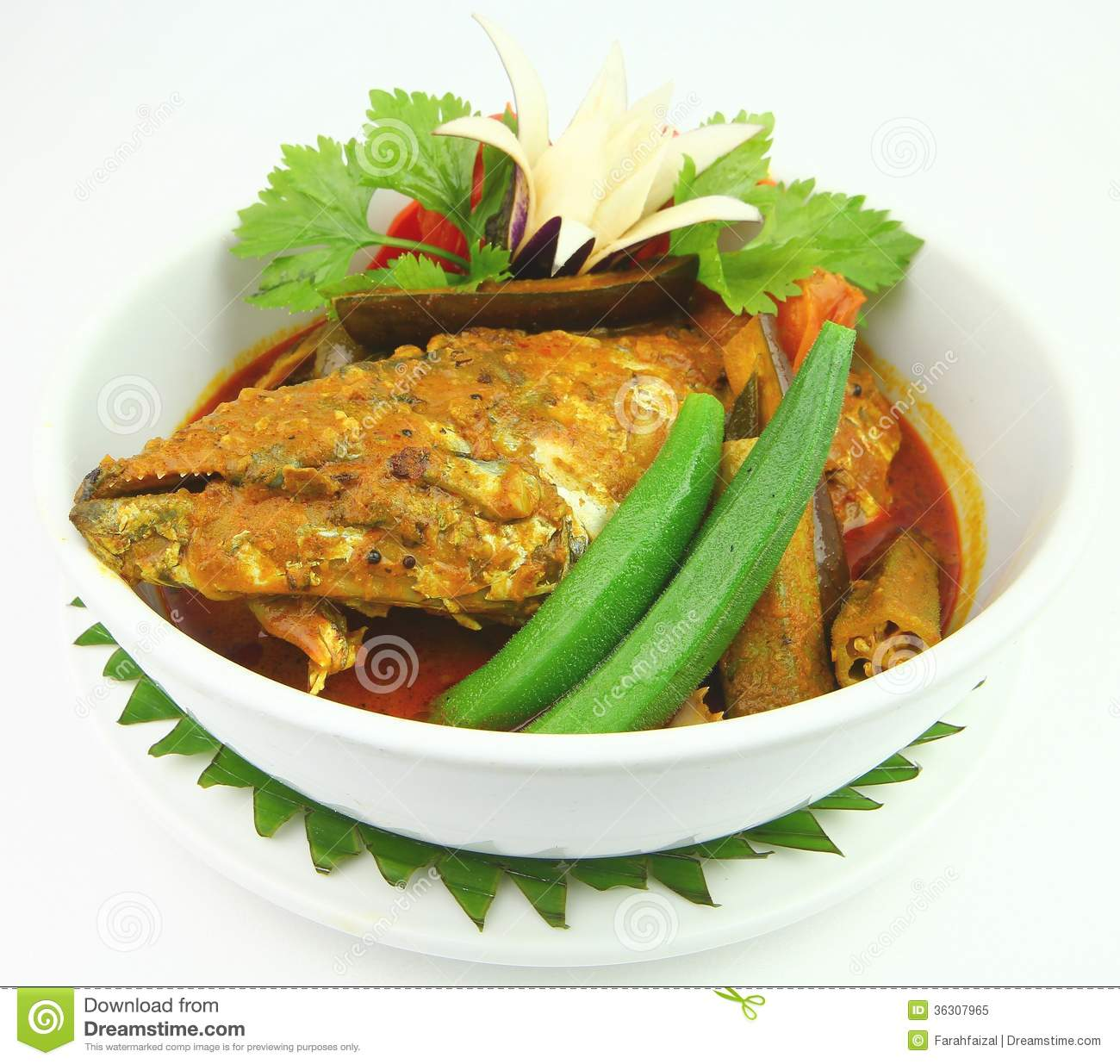 Fish Head Curry Royalty Free Stock Photo - Image: 36307965