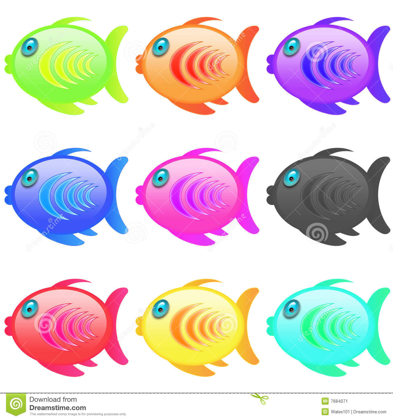 red fish clipart