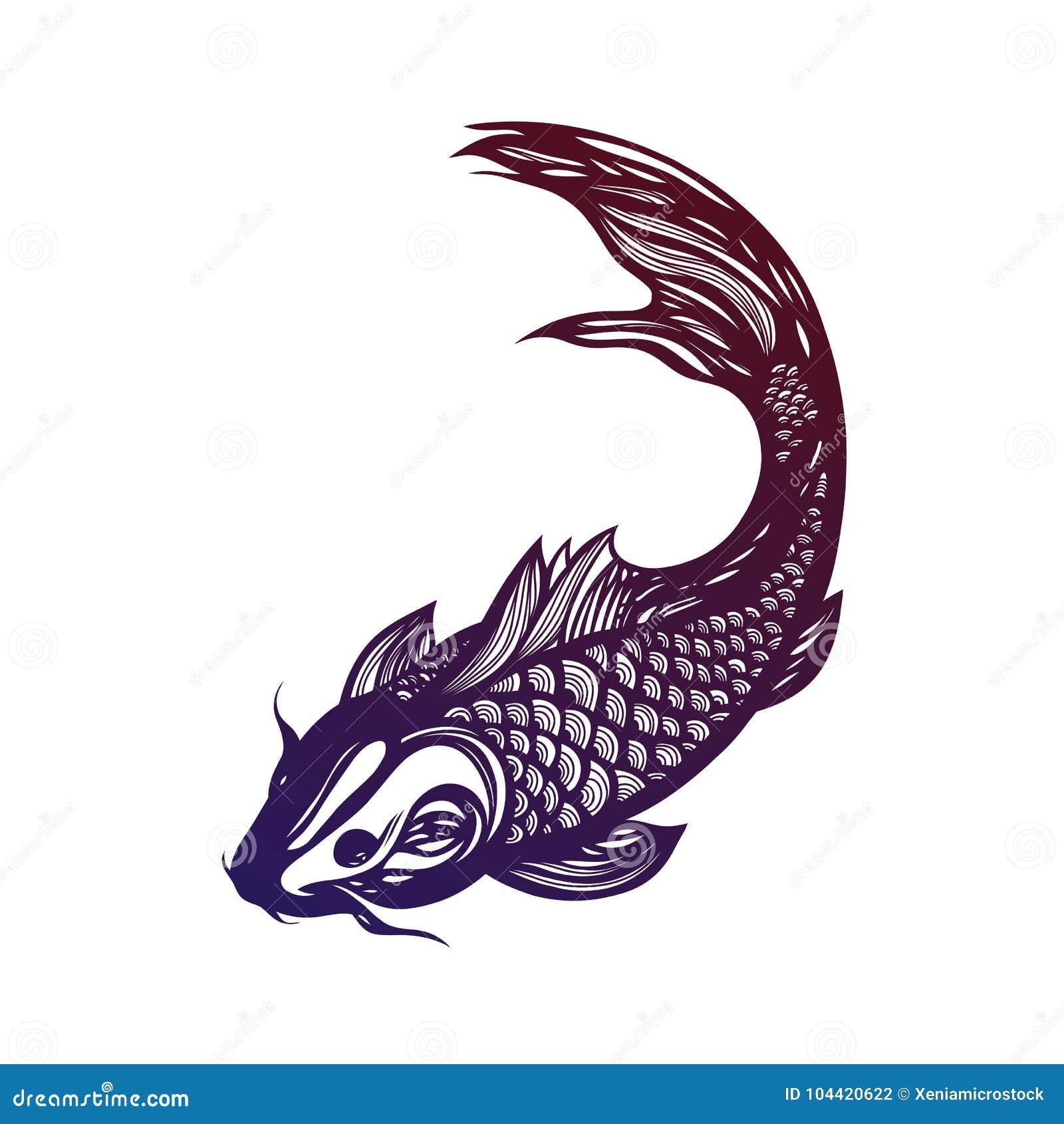 Fish koi carp chinese symbol of good luck courage persistence chinese symbol of good luck courage persistence perseverance wisdom and vitality asia mystic biocorpaavc