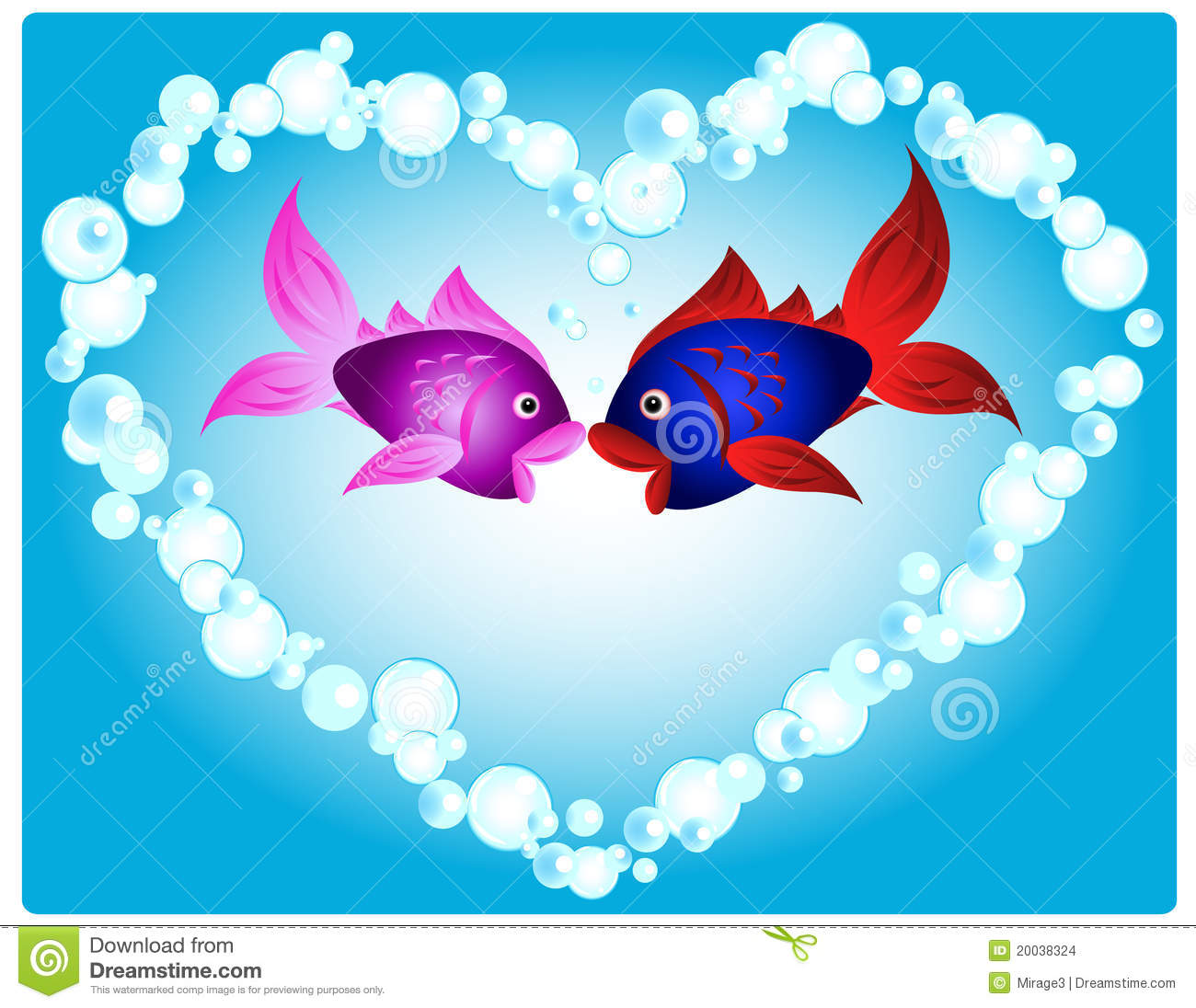 The gallery for cute fish in love for I love the fishes
