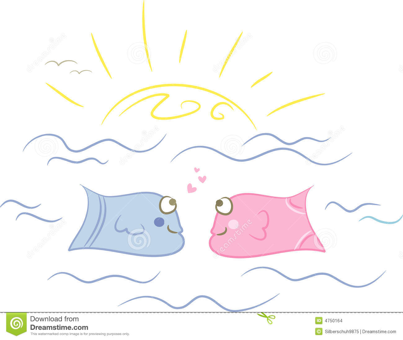 Fish love stock images image 4750164 for I love the fishes