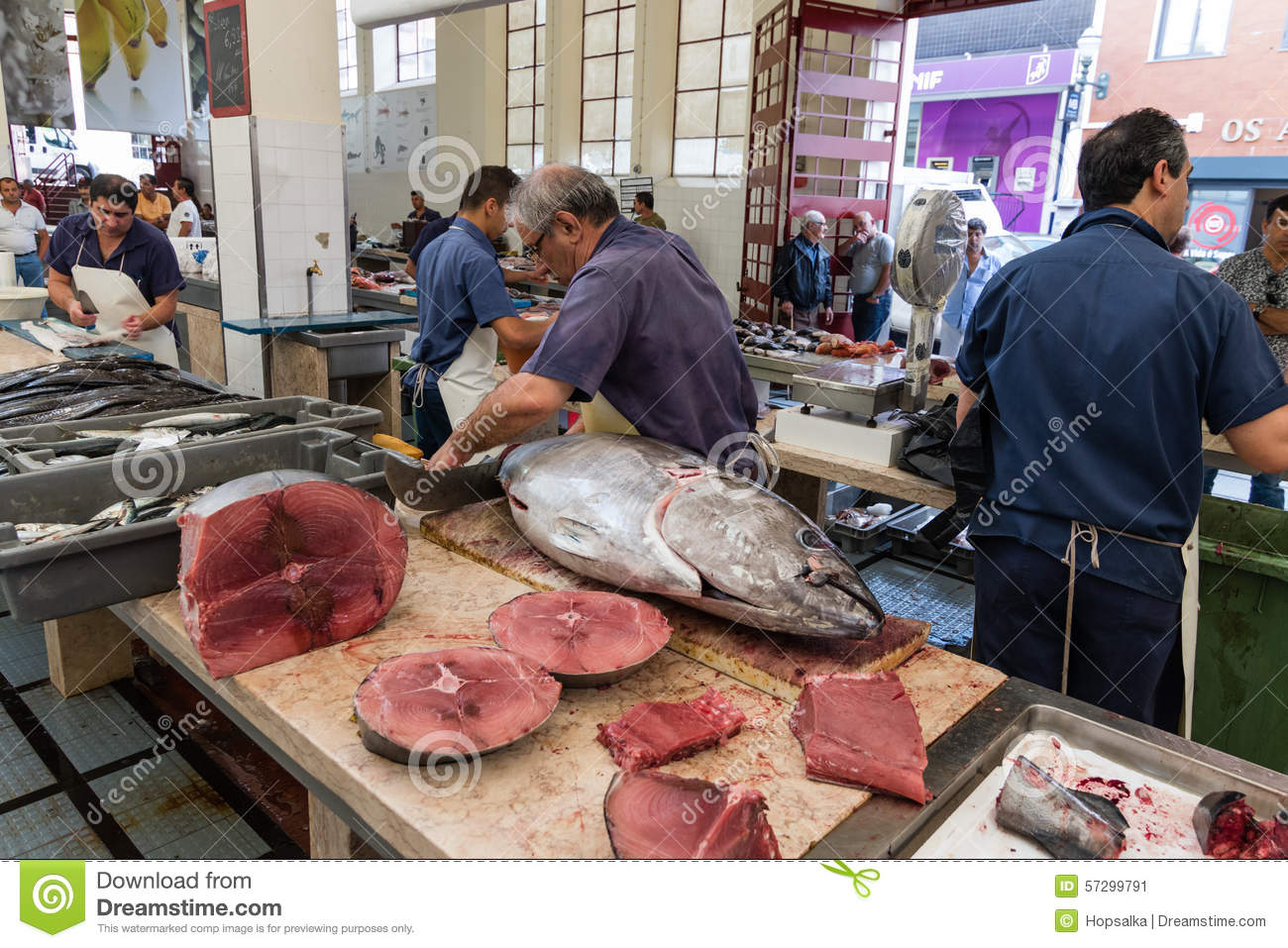 Fish market in funchal madeira island editorial photo for Best fish market nyc