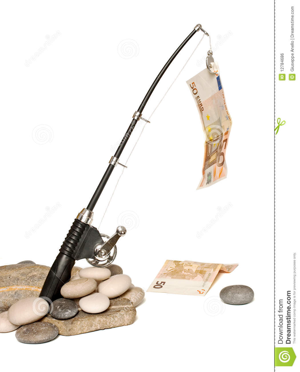 Fish money royalty free stock image image 12784686 for Fish for cash