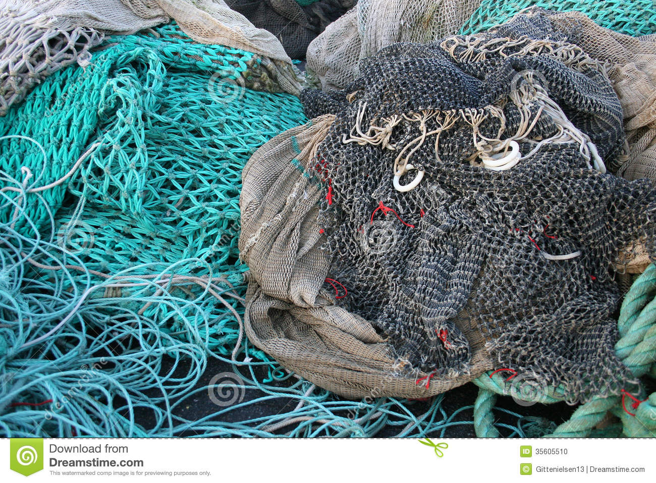Fish Net Stock Photo Image Of Mesh Fish Nautical Texture 35605510