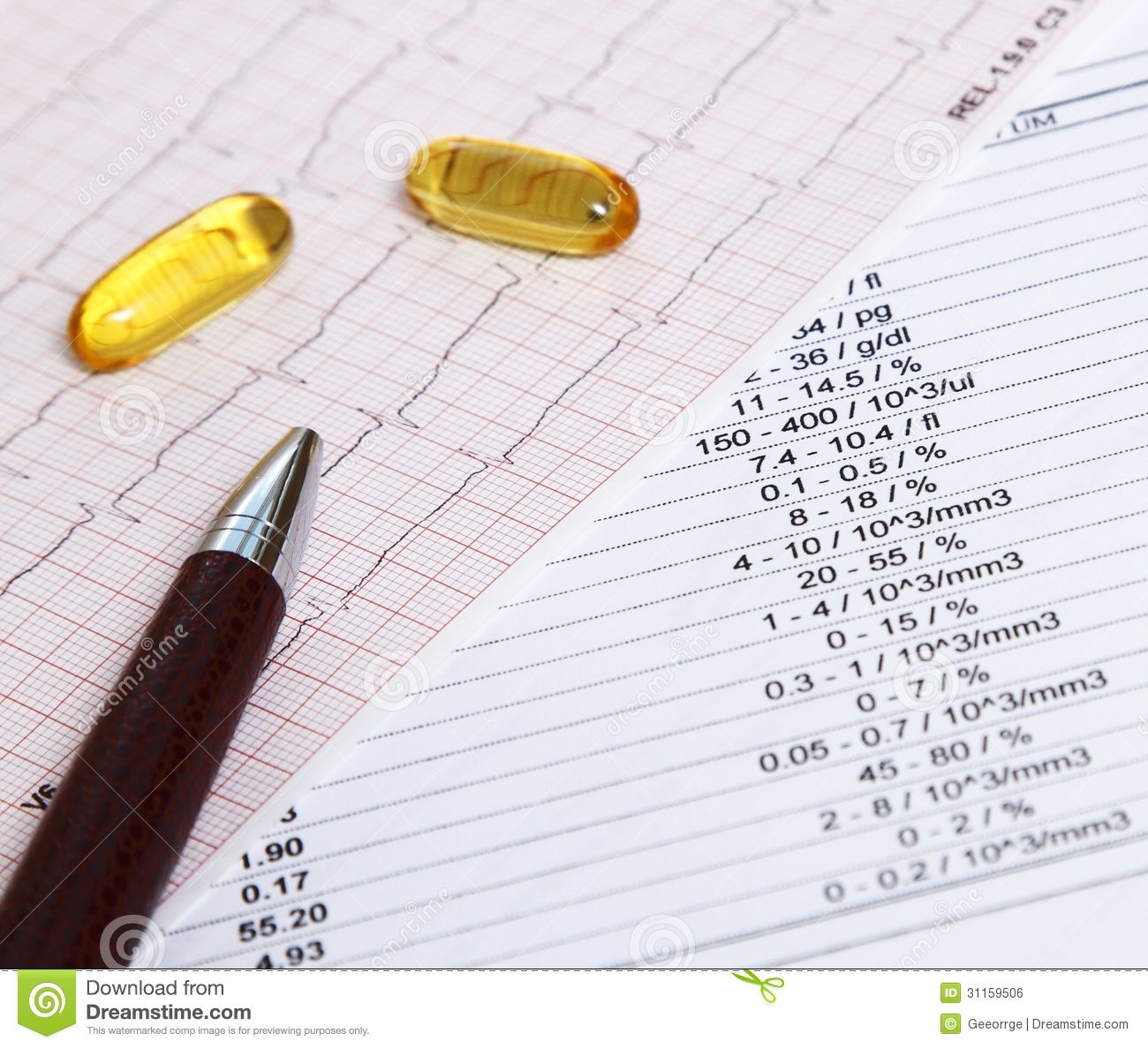 Fish oil for heart disease prevention royalty free stock for Fish oil for heart