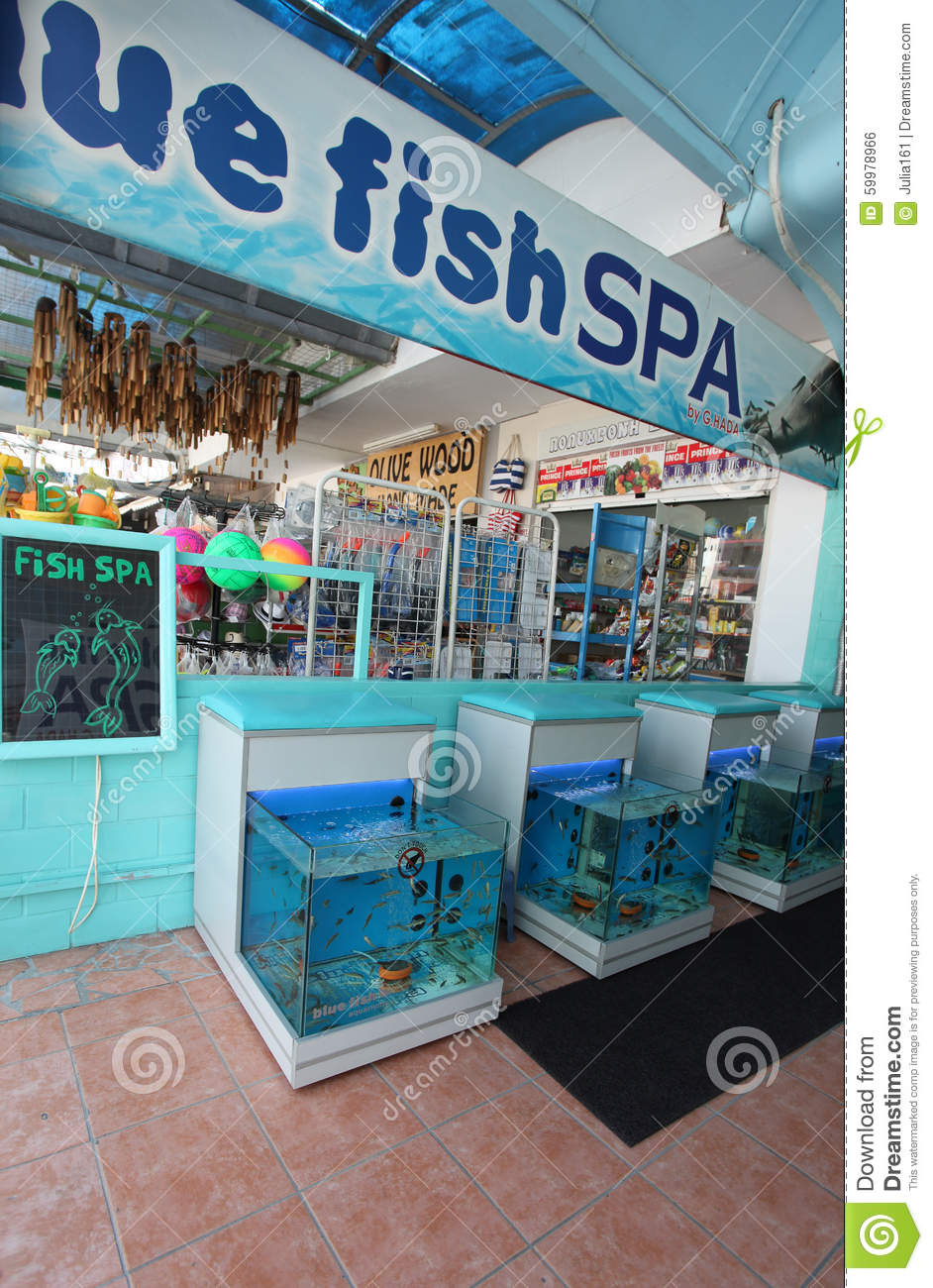 Fish pedicure spa faliraki rhodes island greece for Fish pedicure price